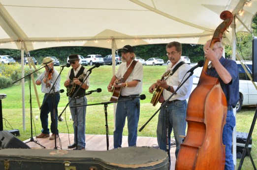 Our suprise bluegrass band!