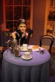 Breakfast at Tiffany's in Madame Tussauds?