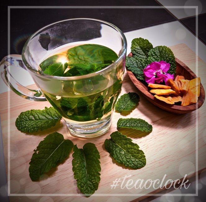 how to make fresh mint tea recipe the sickly mama blog tea o clock
