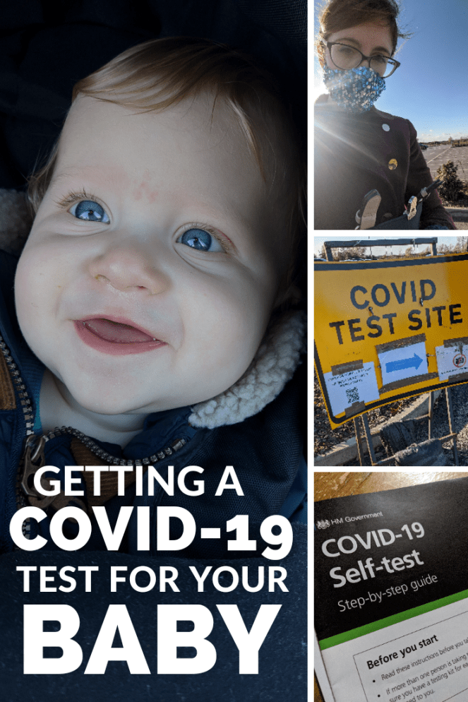 getting a covid-19 coronavirus test for your baby in the UK my experience the sickly mama blog parenting