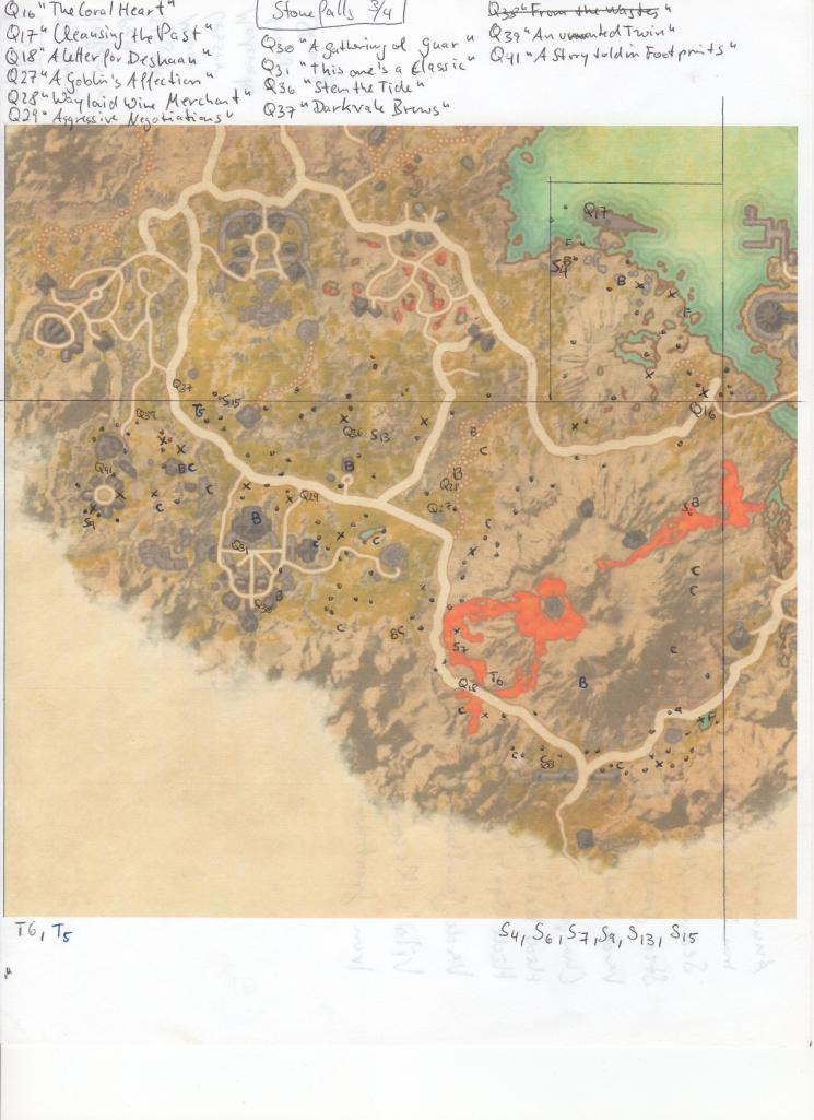 Stonefalls Treasure Map 3 : stonefalls, treasure, TheSidekickOrder.com, Stonefalls
