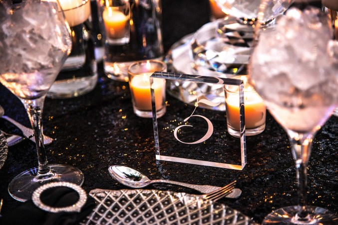 Table Numbers by Fingers In Ink.