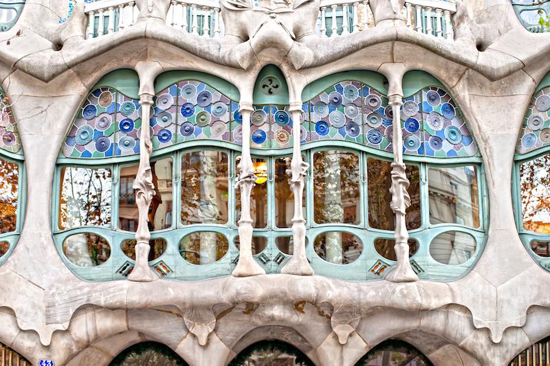 Barcellona Antoni Gaud e il riciclo creativo di Casa Batll