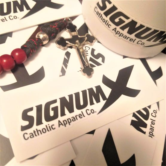 SignumX Catholic Apparel Stickers
