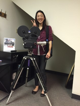 and Assistant Director Sarah Tang - at the ready!