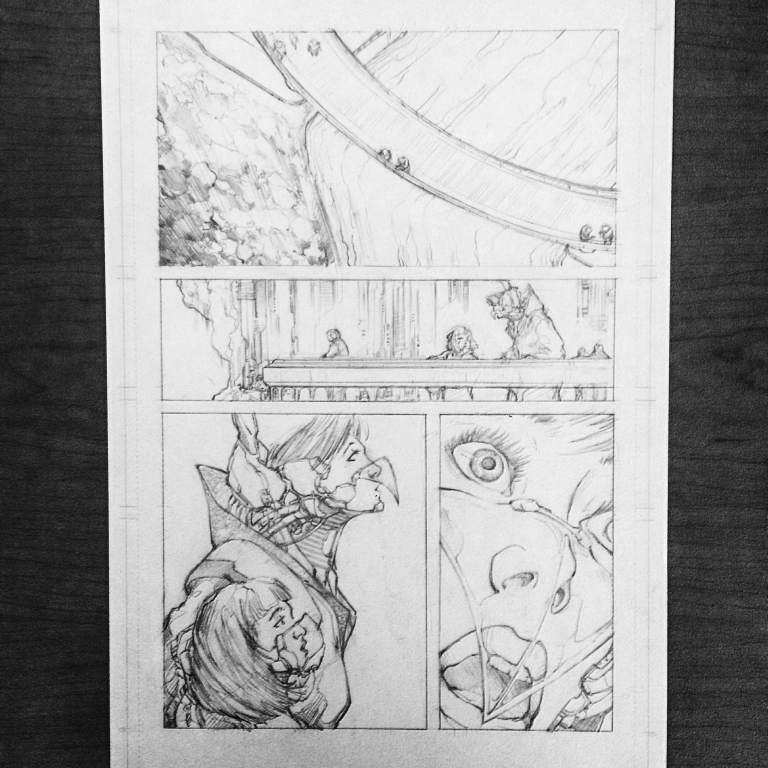 The Silence 2 Page 7 Pencils