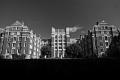 The Wellesley College buildings. Wellesley, MA