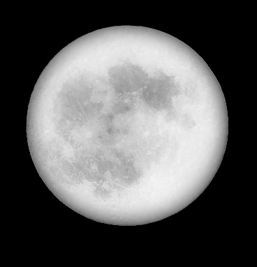 Full Moon As Seen from Essex, CT