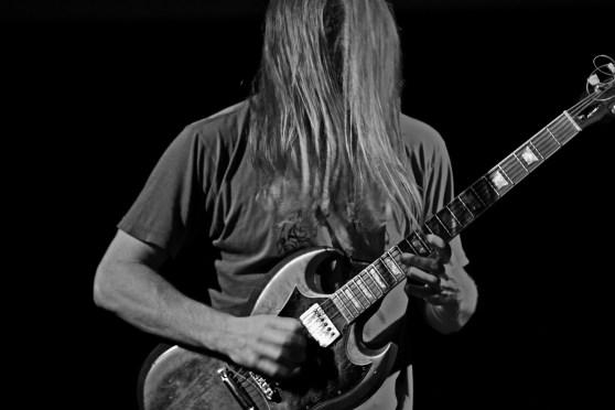 Mick Barr performs at Archer Spade Performance Series at The Rotunda. Philadelphia, PA