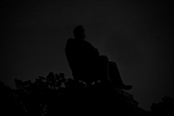 their power is to sit still. Laurel Hill Cemetery