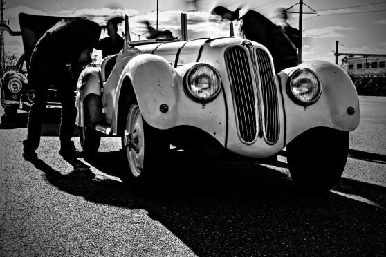 Der erfolgreiche deutsche Sportwagen: 1937 BMW 328. Der Beste Von Deutschland Demo Day. Simeone Museum. Philadelphia, PA