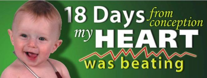 misleading baby's heartbeat billboard