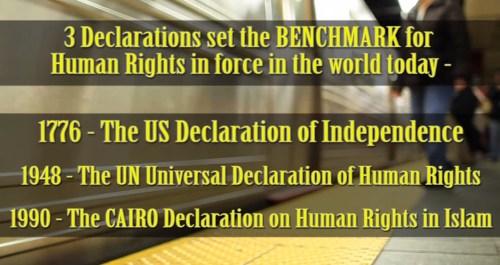 3 declarations