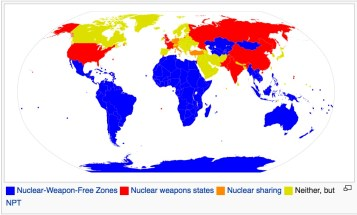 nuclear map