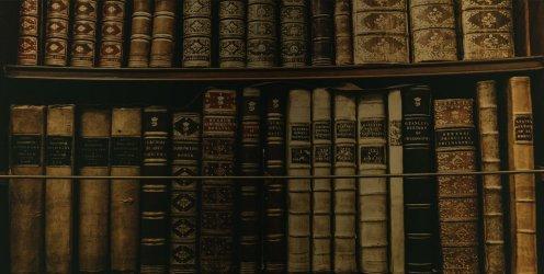 Books Aesthetic Header Books Library
