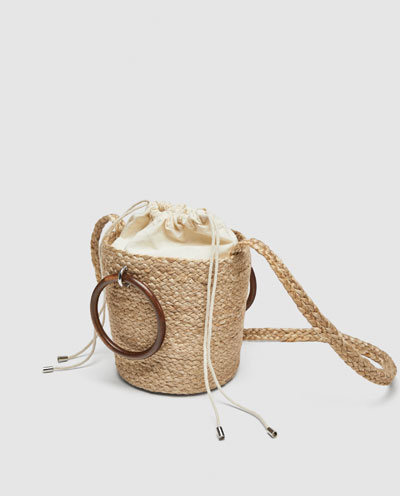 Zara_straw bucket bag