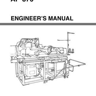 Service Manual Juki AMS-224EN Sewing Machine engineer manual