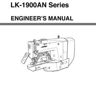 Service Manual LK-1903, BR25 Sewing Machine engineer manual