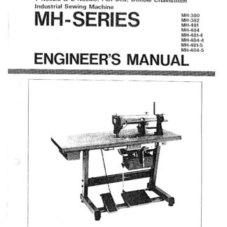 Service Manual MH-380, 382, 481, 484, 481-4, 481-5, 484-4