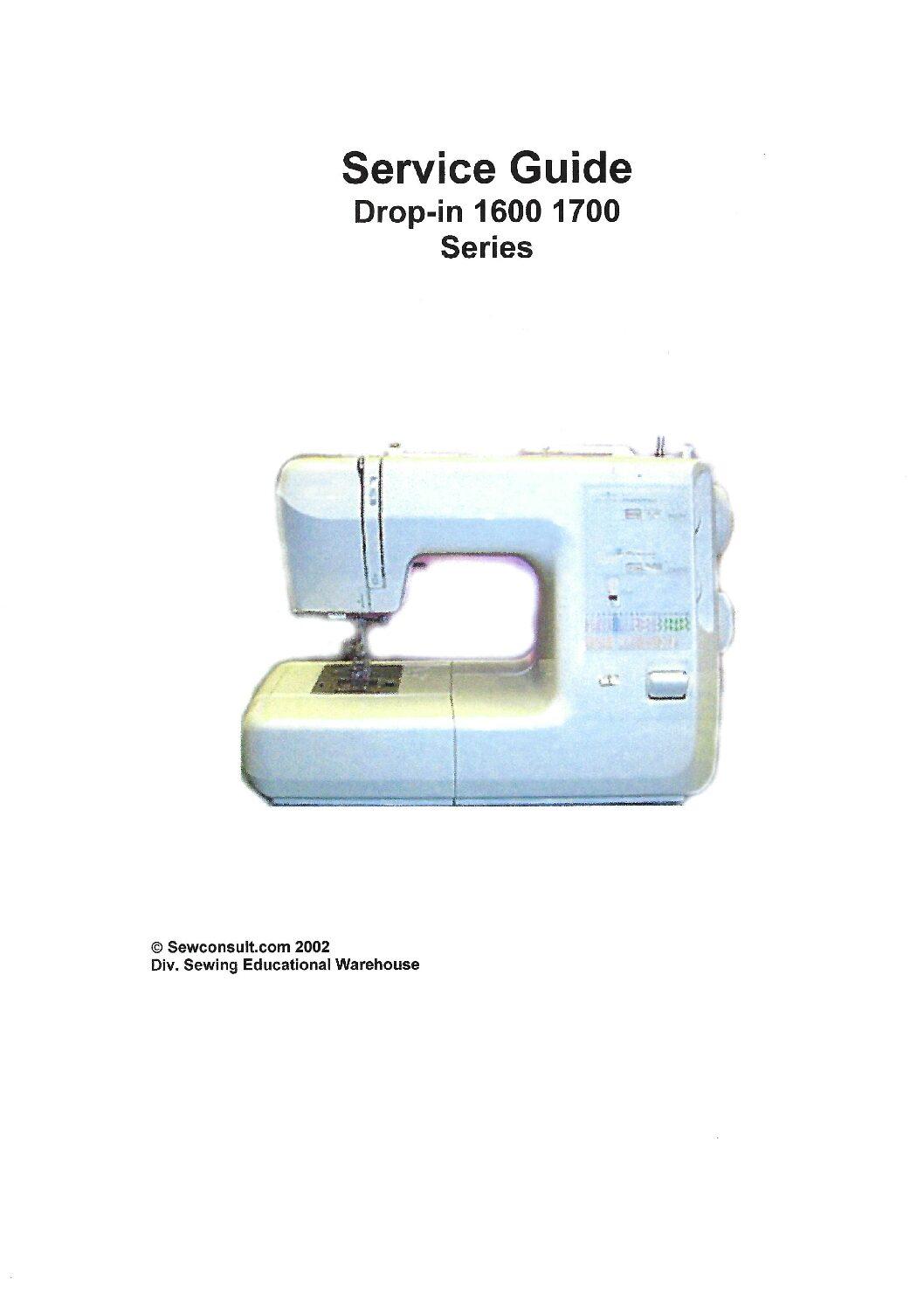 Kenmore Sewing Machine Feet : kenmore, sewing, machine, Service, Manual, Kenmore, 385.1600/1700, Sewing, Machine
