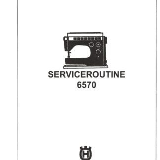 Service Manual Viking 6460, 6570, 2000-6000 Series Sewing