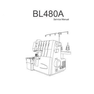 Service Manual Babylock Diana BL480A Serger Sewing Machine