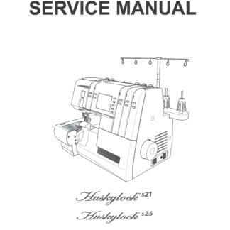Service Manual Viking Huskylock 901 Serger Machine