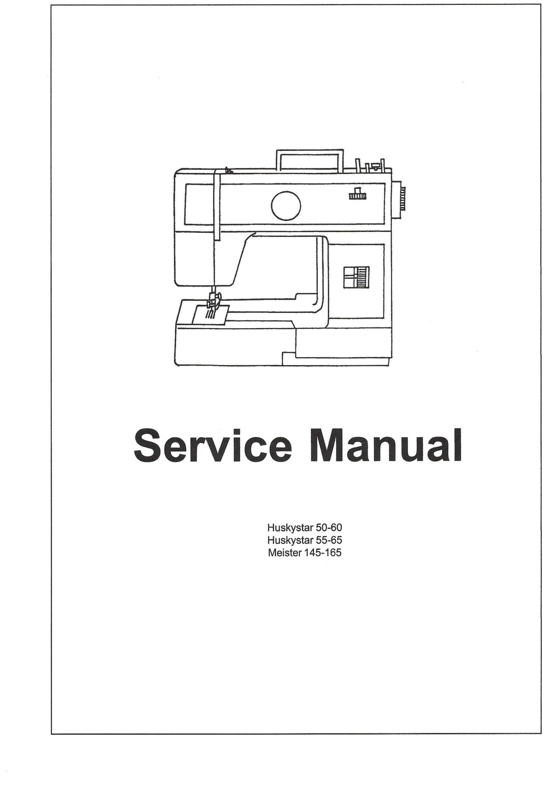 Service Manual Viking HuskyStar 50-60, 55-65, 145-165