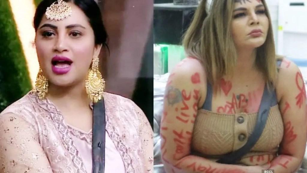 BB14: Arshi Khan made Shocking Statement on Rakhi Sawant, 'I am not like her'