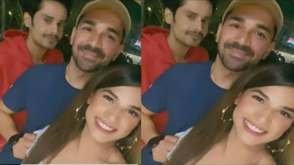 BB14: Abhinav Shukla reunites with his former contestants Naina Singh and Shardul Pandit, Have a look at their pics!