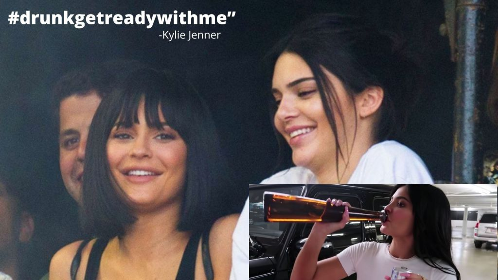 Kylie Jenner cracks up and admits she 'Peed' her pants filming drunk YouTube video with Kendall
