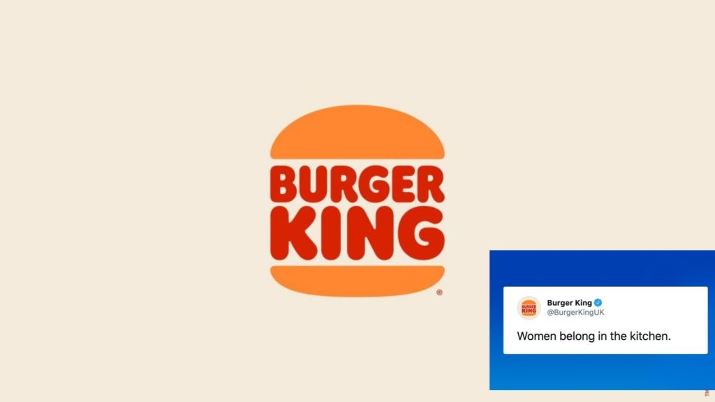 """""""Women Belong in the Kitchen"""": Burger King's Sexist Tweet deletes and apologizes for Tweet after receiving backlash. Check out how netizens reacted."""