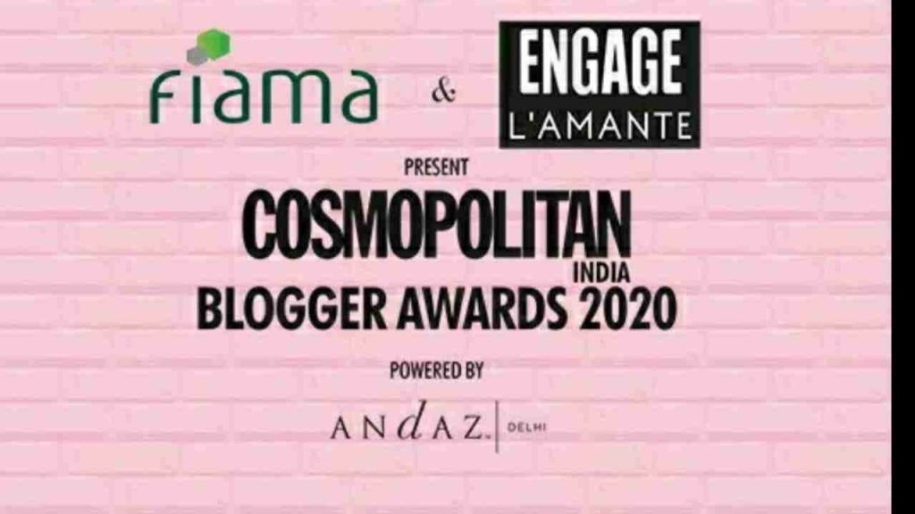 Cosmo India Blogger Awards