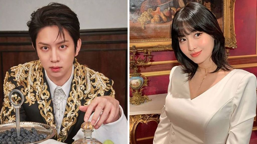 Twice, momo and heechul have broken up