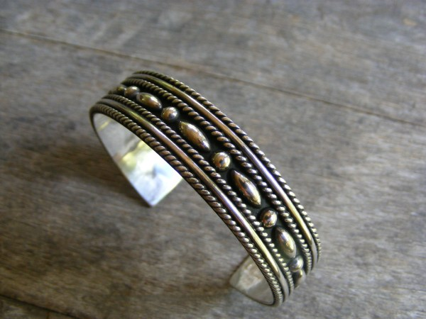 Rope Cuff Bracelet – Vintage Mexican
