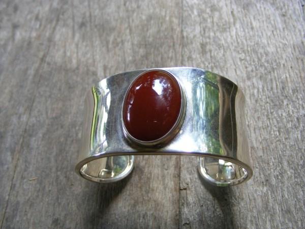 Carnelian Cuff Bracelet – Vintage Mexican