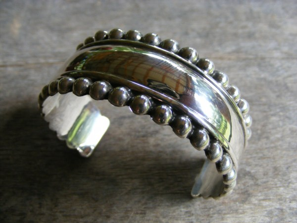 Beaded Cuff Bracelet – Vintage Mexican