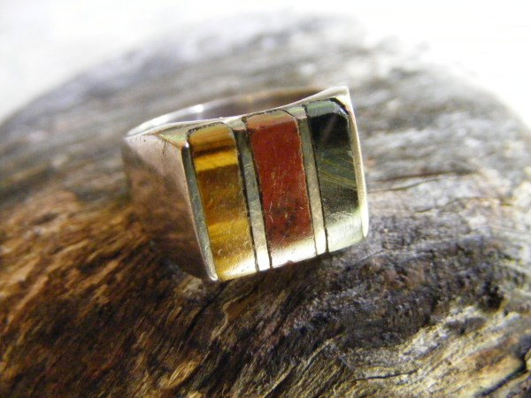 Multi-Stone Ring – Vintage Mexican