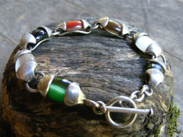 Cat's Eye Bracelet – Vintage Mexican