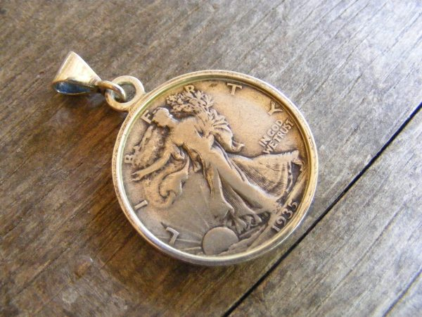 Walking Liberty Pendant