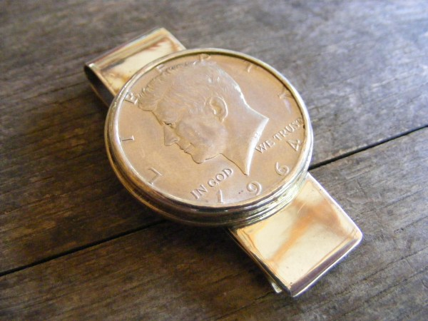 JFK Money Clip