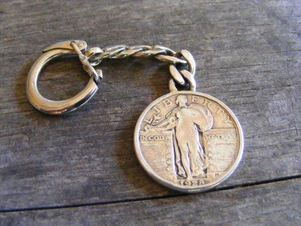 Standing Liberty Key Ring 2