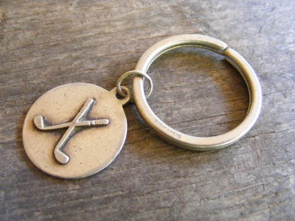 Leonore Doskow Golf Key Ring