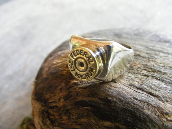 Magnum Bullet Ring