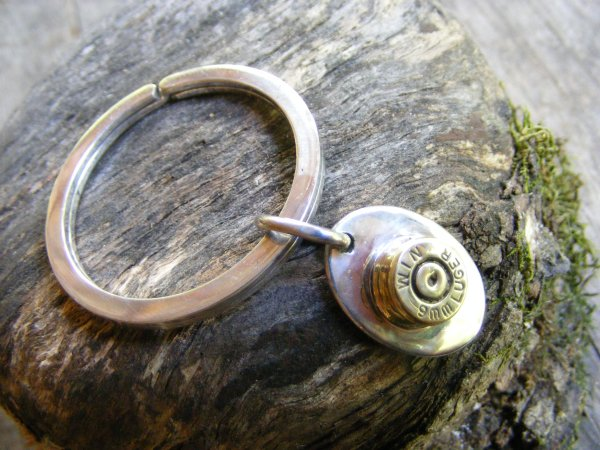 Bullet Key Ring