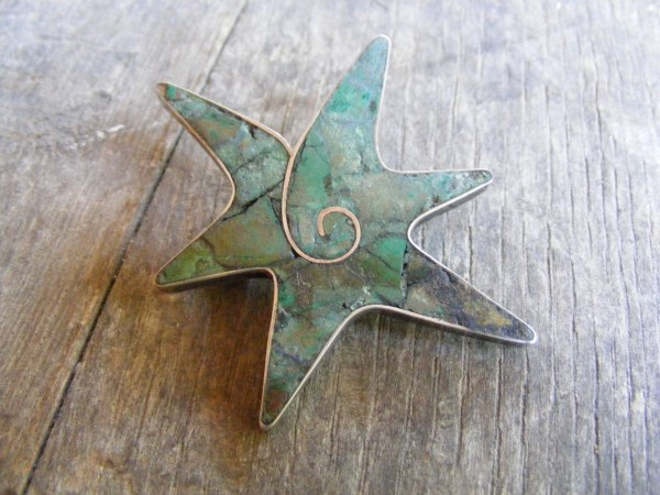 Starfish Pin – Vintage Mexican