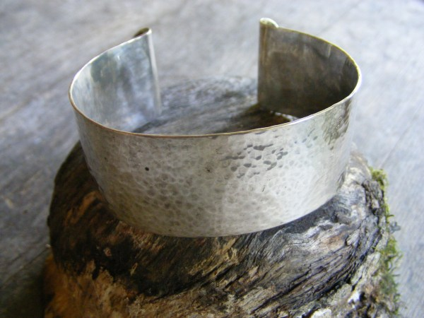 Medium Hammered Cuff Bracelet