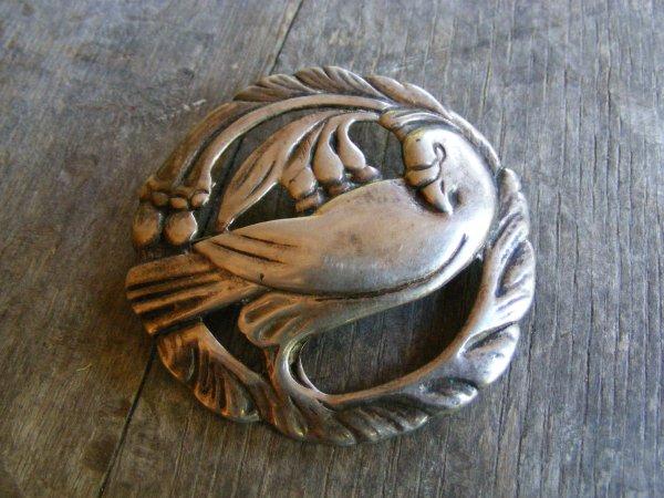 Georg Jensen Style Dove Pin 3