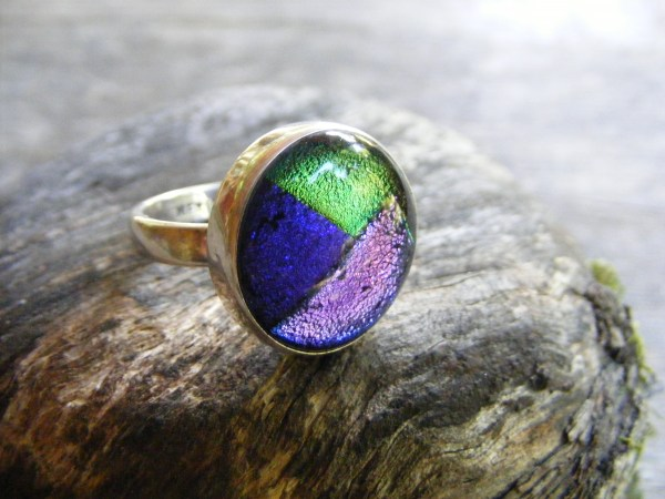 Glass Foil Ring