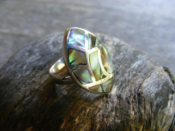 Abalone Inlay Ring